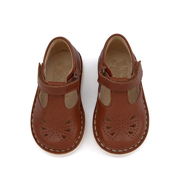 Poppy Leather Chestnut Brown