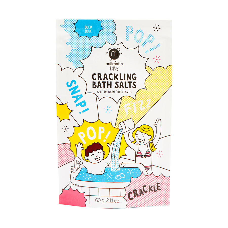 Crackling Bath Salts - Blue
