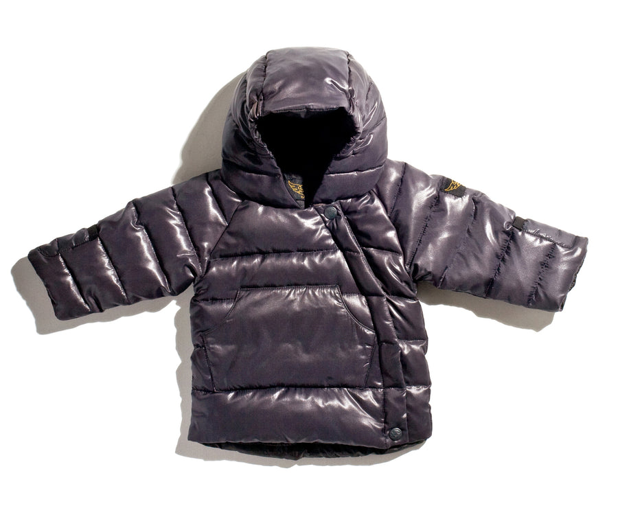 Snowbaby Black - Baby's Down Jacket