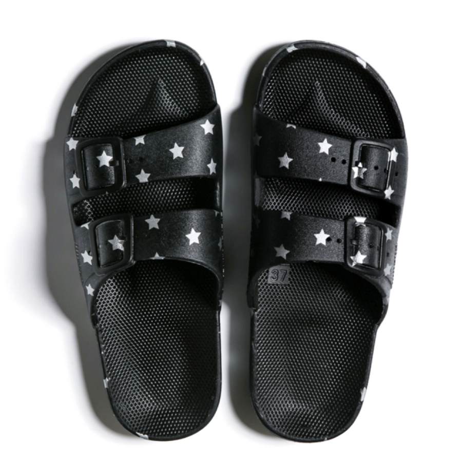 Slippers Freedom Moses Silver Stars