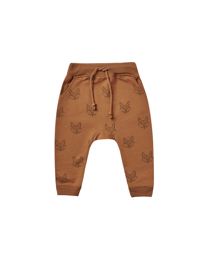 Fox Sweatpants Cinnamon