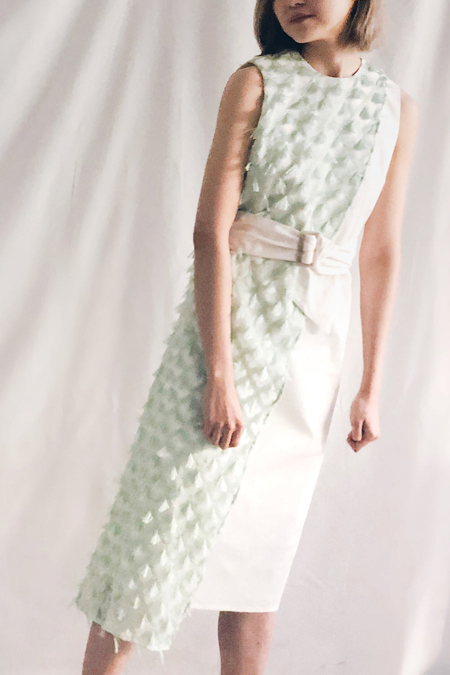 Belted Panel Midi | Mint