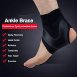 Ankle Support Elastic High Protect Sports