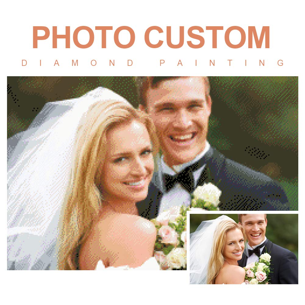 Personalized Custom Photo Diamond Painting