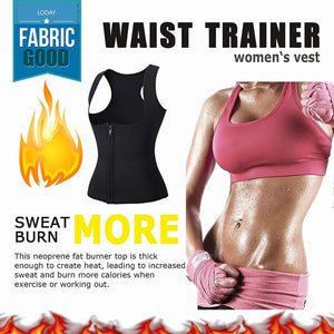 Hot Neoprene Body Shaper Slimming Waist Trainer Cincher Vest