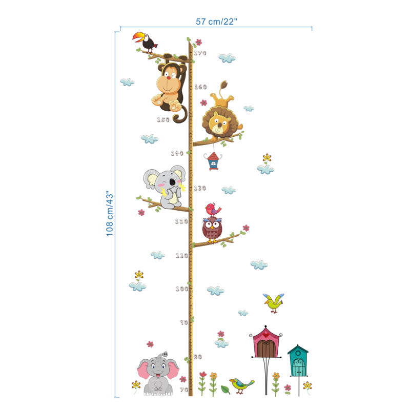 Height Measure Wall Sticker For Kids