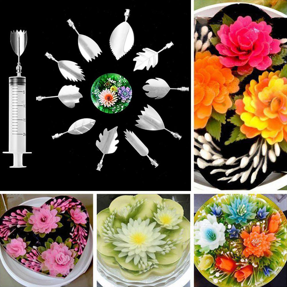 3D Jelly Flower Art Tools