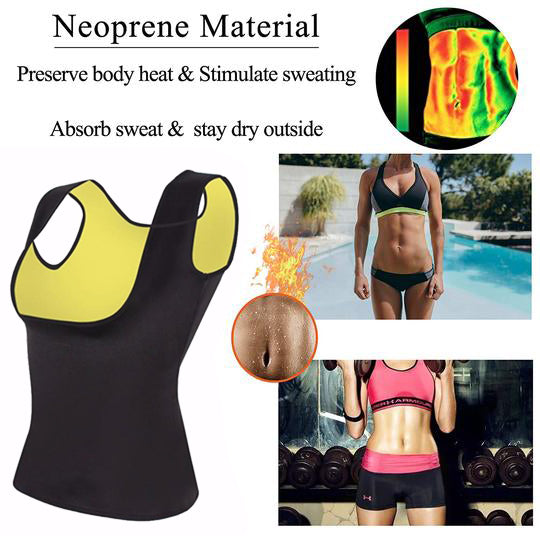 Plus Size Neoprene Sweat Sauna Hot Body Shapers