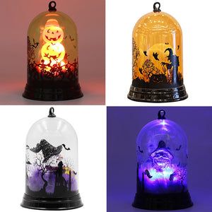 Halloween Pumpkins/Witch/ Castle LED Lamp