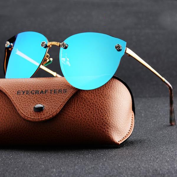 Luxury Polarized Sunglasses Mirror Colorful Lens Glasses
