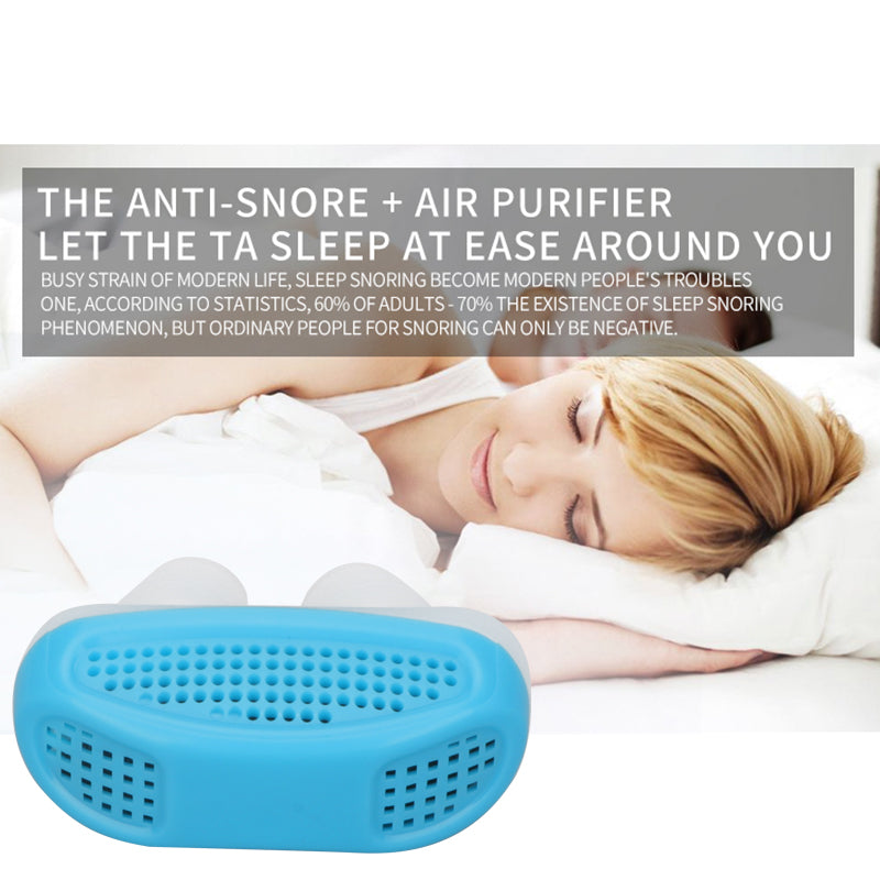 Relieve Snoring Nose Snore Stopping Breathing Apparatus Guard Sleeping