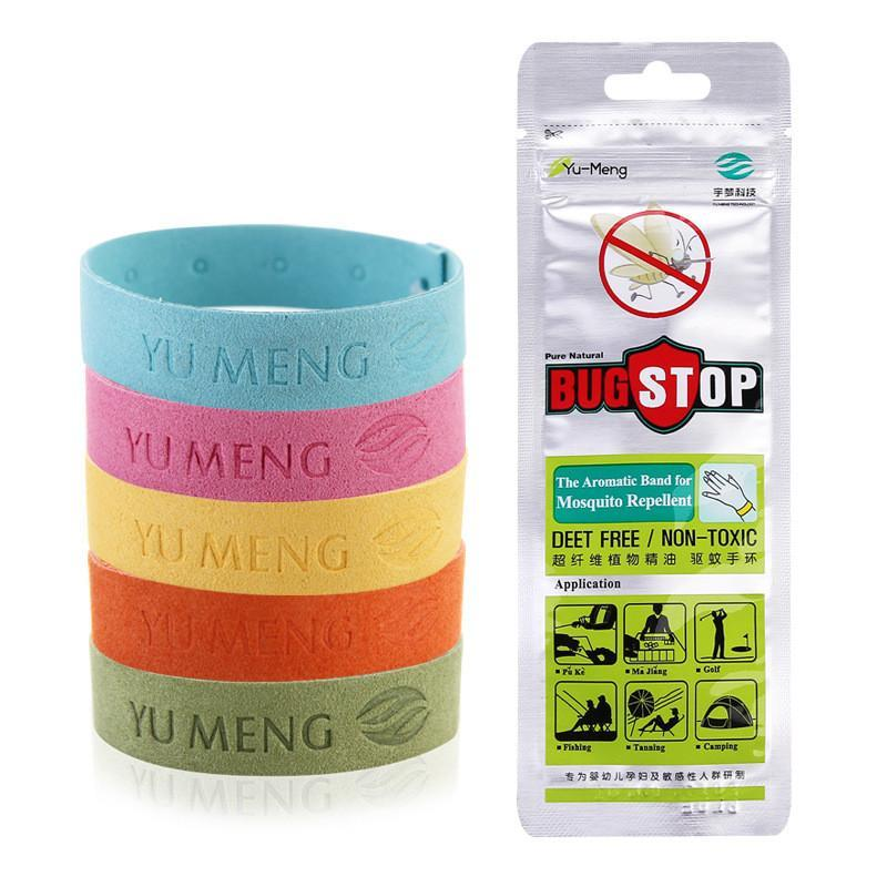 5Pcs Safe Mosquito Repellent Bracelet