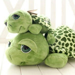Army Green Big Eyes Turtle Plush Toy Kids As Birthday Christmas Gift