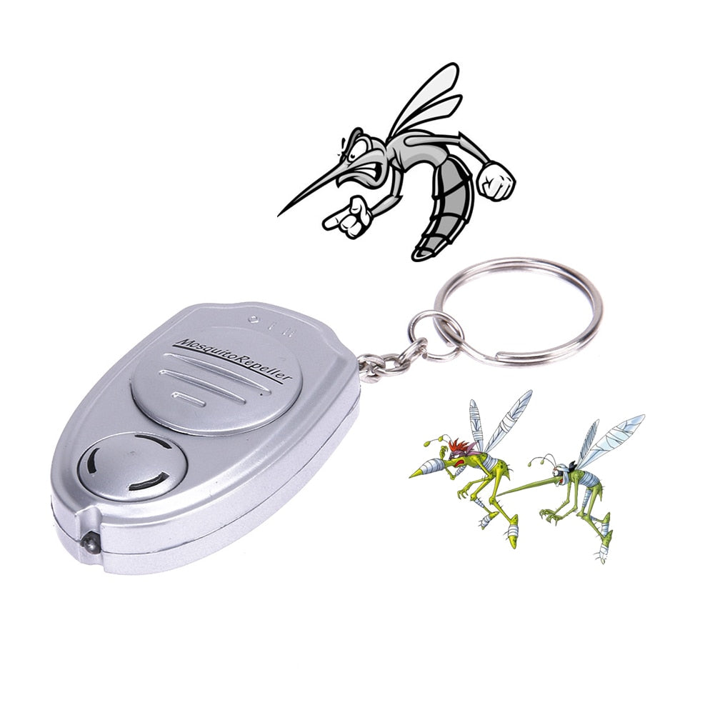 Ultrasonic Anti Mosquito Killer Electric Key Chain Pest Repeller