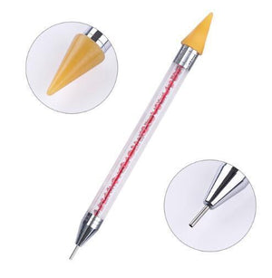Nail Rhinestone Picker Wax Pencil Pickup Pen