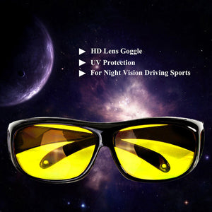 HD Polarized Yellow Lens Night Driving Glasses