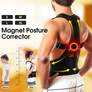 Posture Corrector Brace Shoulder Back Support Belt For Men, Women