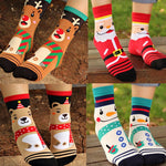 Winter Christmas Socks Santa Claus