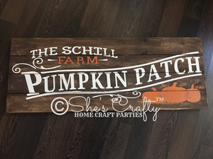 Family Pumpkin Patch Kit