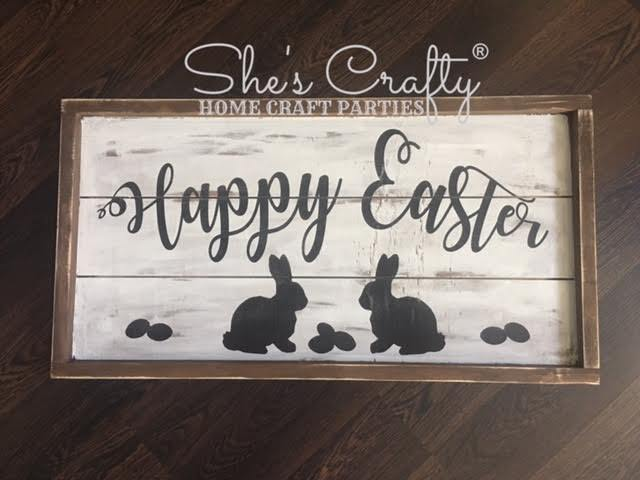 Happy Easter Silhouette Kit
