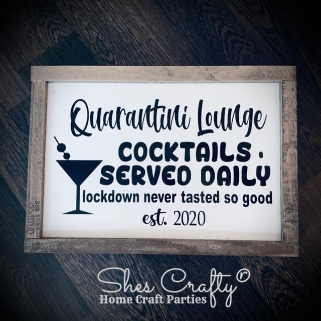 Quarantini Lounge Kit