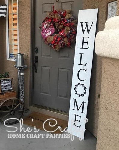 Welcome Porch Sign Kit