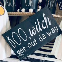 BOO, witch Sign