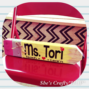 Teacher Name Pencil Kit