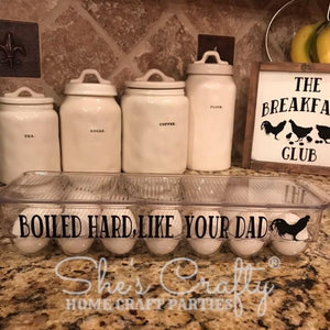 Egg Container Decal Only