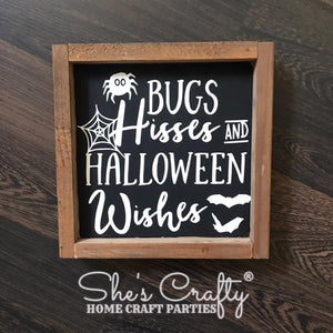 Bugs Hisses Halloween Wishes Kit