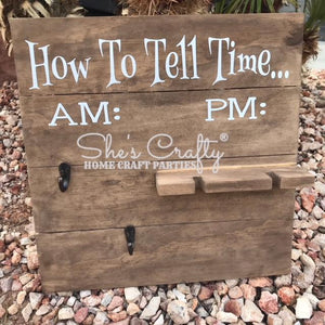 How To Tell Time Kit