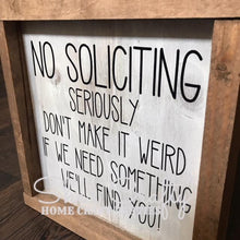 No Soliciting Kit