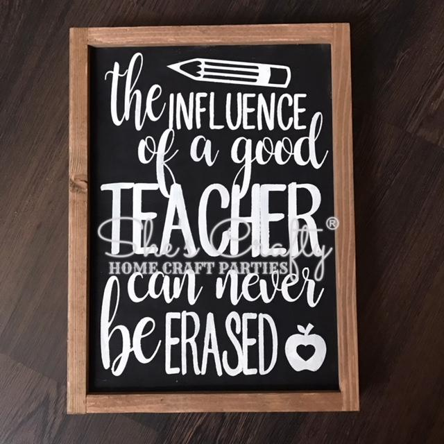 The Influence of a Teacher