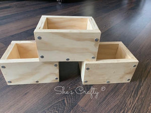 Planter Box Table Top Trio Kit