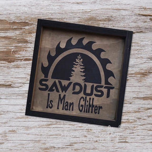 Sawdust is Man Glitter Kit
