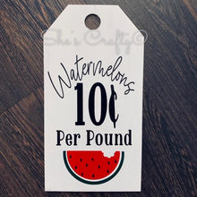 Watermelons Tag Shape Kit
