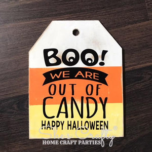 Halloween Door Tag Kit