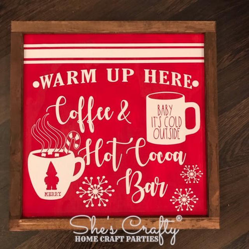 Coffee & Hot Cocoa Bar Sign