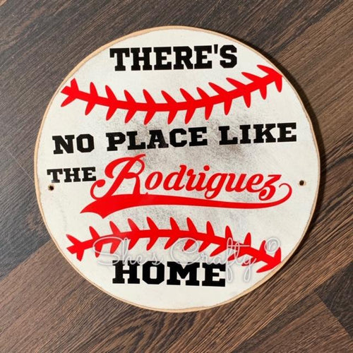 There's No Place Like Home Baseball Shape Kit