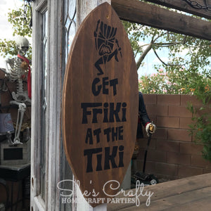Get Friki at the Tiki