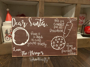 Dear Santa Tray Kit