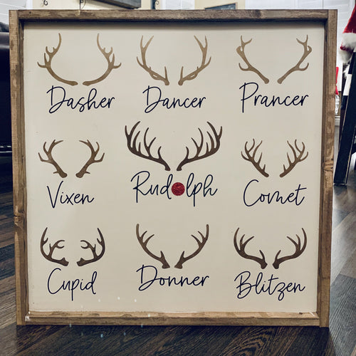 Reindeer Names Kit