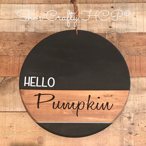 Hello Pumpkin Circle Kit