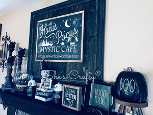 Hocus Pocus Mystic Cafe Kit
