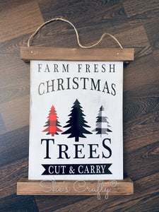 Farm Fresh Christmas Trees Kit