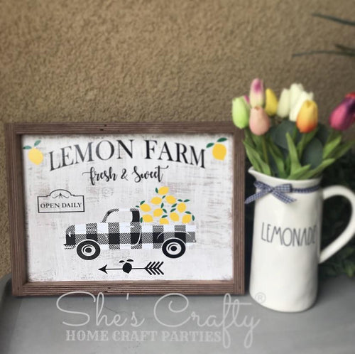 Lemon Farm Kit
