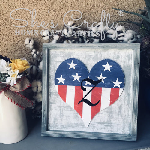 3D Heart Monogram Kit