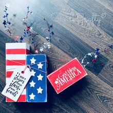 God Bless America, Stars & Stripes Blocks Kit