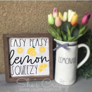 Easy Peasy Lemon Squeezy Kit