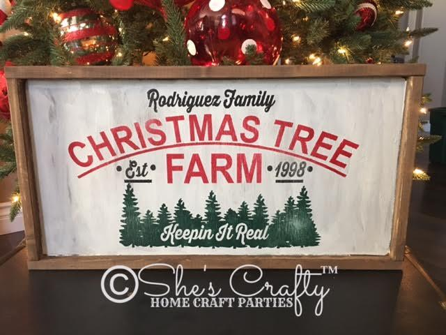 Family Christmas Tree Farm Kit